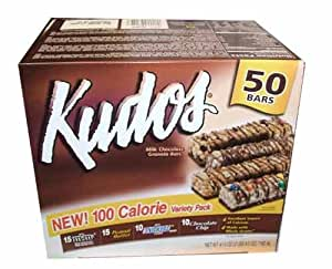 Kudos Milk Chocolate Granola Bars 100 Calorie Variety Pack