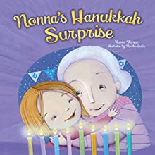 Nonna's Hanukkah Surprise Audiobook by Karen Fisman Narrated by  Book Buddy Digital Media