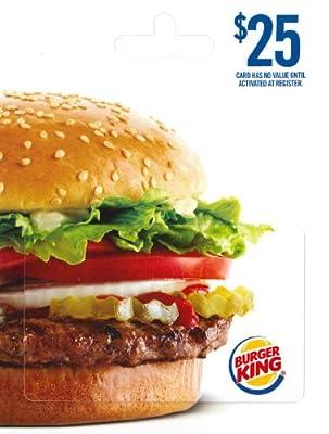 Burger King $25
