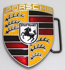 Porsche Car Logo Belt Buckle -