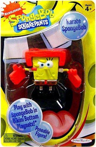 SpongeBob Squarepants Action Figure Karate Spongebob - 1