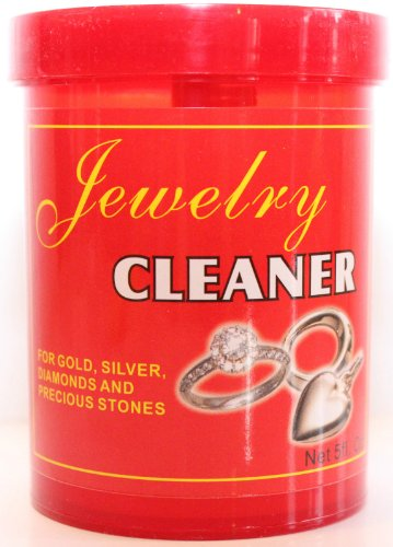 Jewelry Cleaner Solution Safely Clean All Jewelry Gold Silver & Diamonds 5 Oz