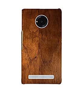 Fuson Premium Back Case Cover Designed wood With Purple Background Degined For YU Yuphoria::Micromax Yuphoria YU5010