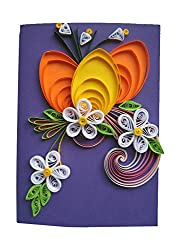 Zaktag Paper quilling with jewellery set