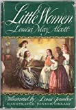 Image of LITTLE WOMEN by Louisa May Alcott, illustrated by Louis Jambor (1947 Illustrated Junior Library edition, Grosset and Dunlap Publishers.)