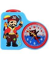 Baby Watch - Dring Pirate - Réveil Garçon - Quartz Analogique - Cadran Multicolore