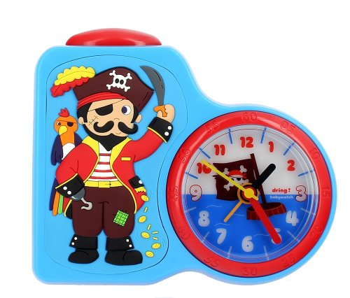 Baby Watch (babewatch) with light alarm clock pirate pirate kids alarm imported genuine DR001