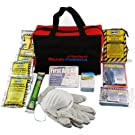 Ready America 70080 Grab-n-Go Emergency Kit, 1-Person 3-Day Bag