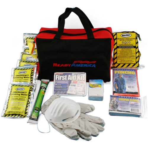 Ready America 70080 Grab-n-Go Emergency Kit,