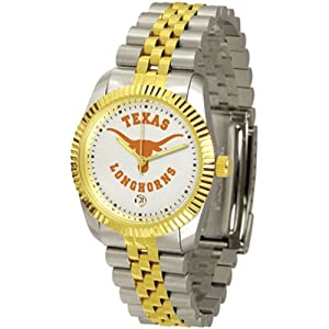 Texas Longhorns NCAA Executive Mens Watch by SunTime