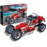 P&R Kids 105pc Car Model Educational Diy Toys Building Block Set Best Gift For Boys And Girls