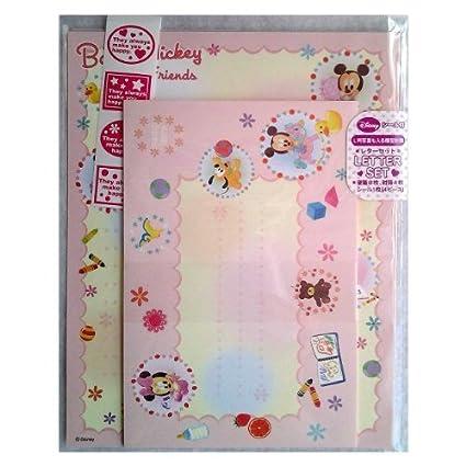 Sunstar Disney Stationary letter Set DC over N baby 24 baby pattern S2026961