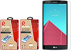 Raydenhy Pack of 2 (2 PCS) 2.5D Curved Edges 0.33MM Thickness Tempered Glass For LG G4