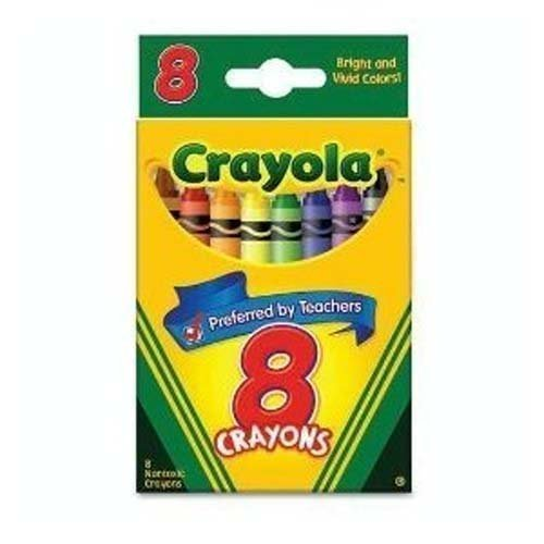 Crayola Crayons 8 Colors - 1