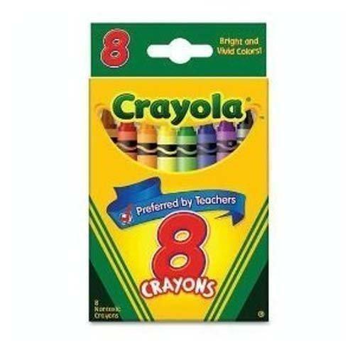 Crayola Crayons 8 Colors