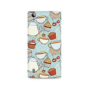 Ebby Cakes and Tea Premium Printed Case For Vivo Y15