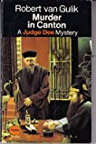 Murder in Canton (Panther crime) (0586027785) by Gulik, Robert Van