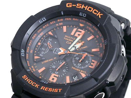 Casio CASIO G shock g-shock wave solar sky cockpit watch GW 3000B-1 A parallel imported goods