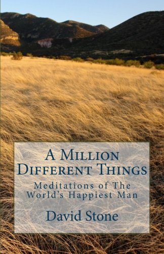 A Million Different Things: Meditations of The World's Happiest Man by David Stone (2010-03-13)