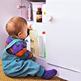 10-Locks-2-Keys-Baby-Magnetic-Locks-BESTOPE-Safety-Cabinet-Drawers-Lock-Easy-Install-No-Screws-or-Drilling-Proof-for-Home-Safety