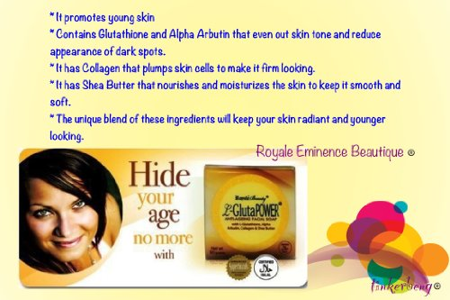 """L-Gluta Power Anti-Aging Facial Soap"""