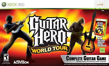 Xbox 360 Guitar Hero World Tour Guitar Kit
