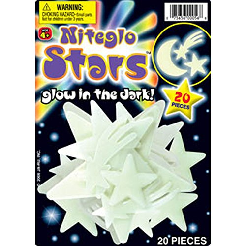 Niteglo Stars and Moon 20 Pieces - 1