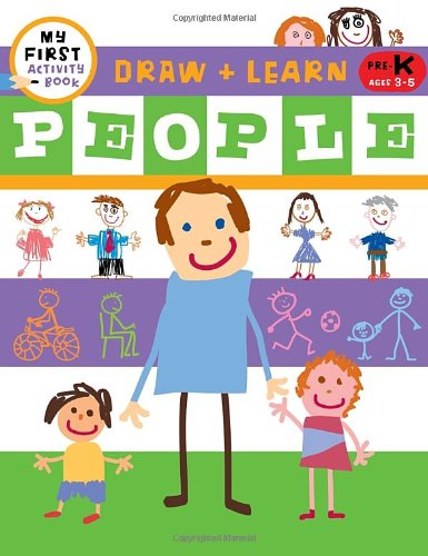 Draw + Learn: People (My First Activity Books: Draw + Learn)