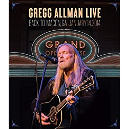 Gregg Allman Live Back to Macon, GA