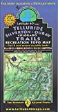 img - for Telluride - Silverton - Ouray Colorado Trails Recreation Topo Map book / textbook / text book