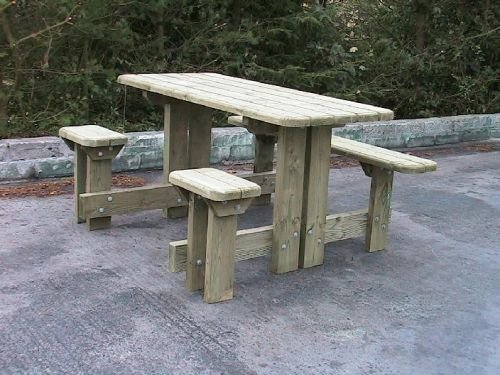 Disabled Picnic Bench