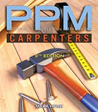 Practical Problems in Mathematics for Carpenters (Delmar's Ppm Series)