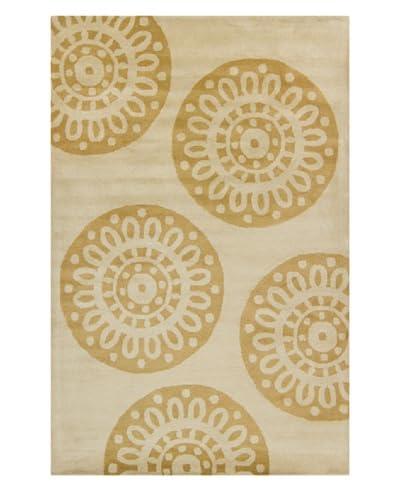 Filament Sasha Hand-Tufted Rug, Gold, 5' x 7' 6
