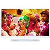 Telefunken L28H272I3 72 cm (28 Zoll) Fernseher (HD Ready, Triple-Tuner, Energieklasse A+) weiß