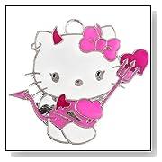 Hello Kitty Lil Devil costume charm