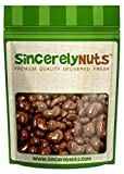 Sincerely Nuts Milk Chocolate Cashews - Two (2) Lb. Bag - Utterly Scrumptious, Fresh & Crunchy - 100% Kosher Certified!