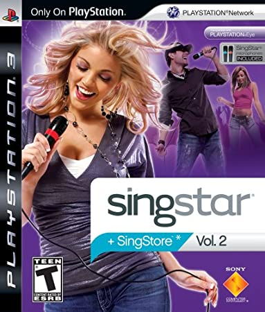 SingStar Vol. 2 with microphone