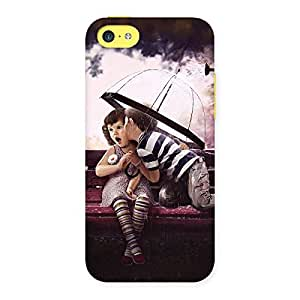Gorgeous Kid Kiss Back Case Cover for iPhone 5C