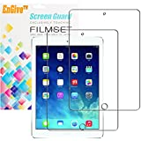 2 Packs EnGive High Definition Crystal Clear iPad Air / iPad Air 2 Screen Protector