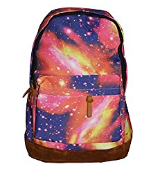 Everyday Desire Imported Attractive Galaxy Design Bags - Pink