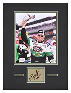 Bobby Labonte Matted 8 x 10 Photo with Autograph & Plate - Memories - Mounted... by Sports Memorabilia