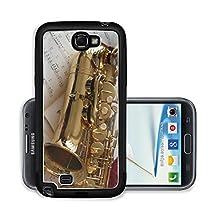 buy Liili Premium Samsung Galaxy Note 2 Aluminum Snap Case Saxophone And Music Photo 288708
