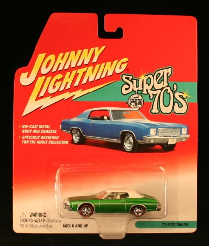1974 Ford Torino * Super 70'S * 2002 Johnny Lightning 1/64 Scale Die-Cast Vehicle