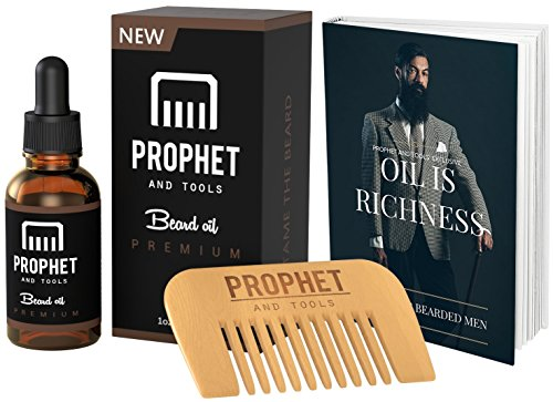SUPER SALE Suave Beard Oil and Beard Comb Kit with Free Beard...