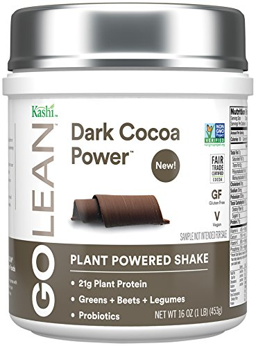 Kashi GOLEAN Plant Powered Shake (Dark Cocoa Power, 16-Ounce)