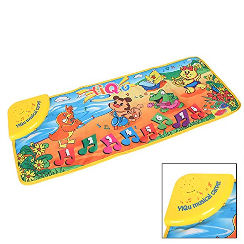 Cute Animal Concert Musical Music Touch Play Carpet Mat Blanket Kid Baby Toy front-513872