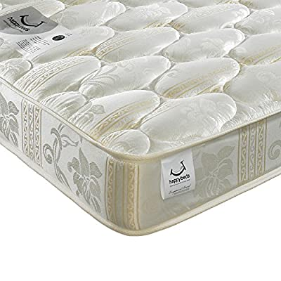 Happy Beds Star Luxury Fillings Bonnell Spring Damask Mattress
