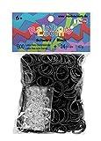 Rainbow Loom® Gummibänder Schwarz von Rainbow Loom