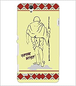 PrintDhaba Quote D-3814 Back Case Cover for SONY XPERIA C4 (Multi-Coloured)