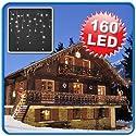 LED-Eiszapfen-Lichterketten